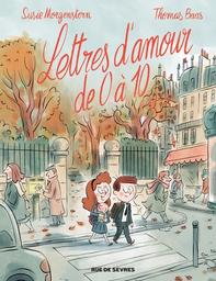 Lettres d'amour de 0 à 10 / scénario, dessins et couleurs de Thomas Baas   Baas, Thomas (1975-....). Auteur