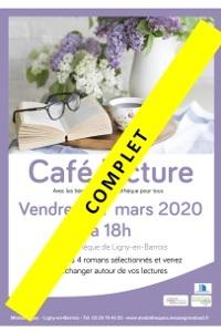 Café Lecture à la médiathèque de Ligny-en-Barrois |