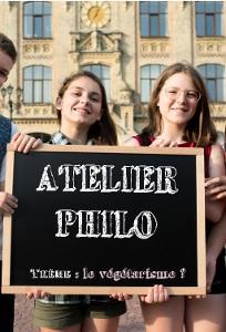 Atelier philo : le végétarisme ? |
